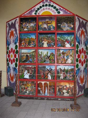 Ayacucho, Peru: Retablo Ayacuchano