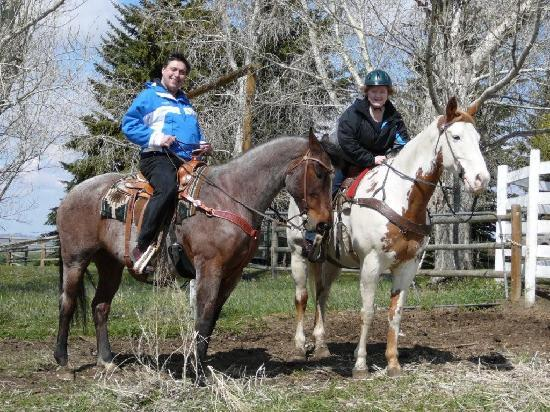 Rocking R Guest Ranch: Giddy Up!  Just like Roy Rogers and Dale Evans!