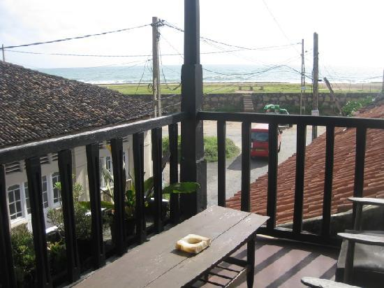 Mrs Khalid's Guest House : View from balcony, Mrs. Khalid's Guest House, Galle
