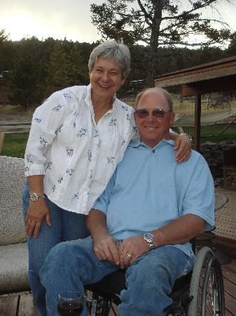 Bonanza Creek Guest Ranch: June & David Voldseth (Owners and our friends)
