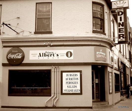 Prince Albert S Diner London Central London