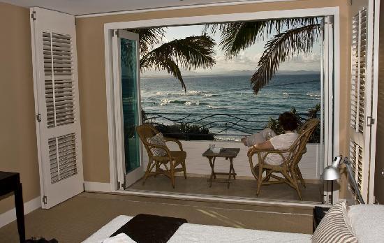 Watermark at Wategos : View from bedroom balcony