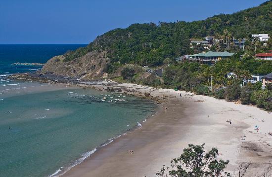 Watermark at Wategos : View of Wategos from the Headland