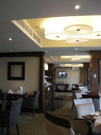 Hotel Jen Penang by Shangri-La: Traders Lounge Area