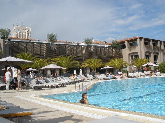 Opio, Fransa: la piscine