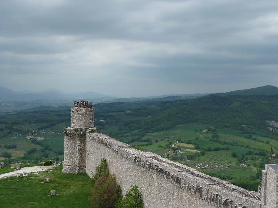Assisi, Italia: Vista desde la Rocca Maggiore