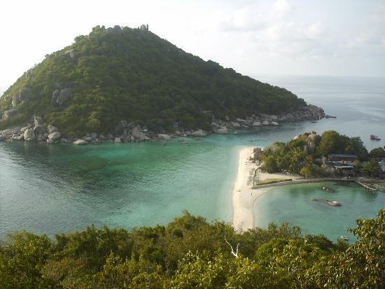 Nangyuan Island Dive Resort: view from the hill