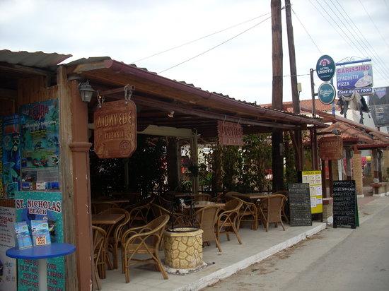 Dionysos Taverna Restaurant: View Main Street