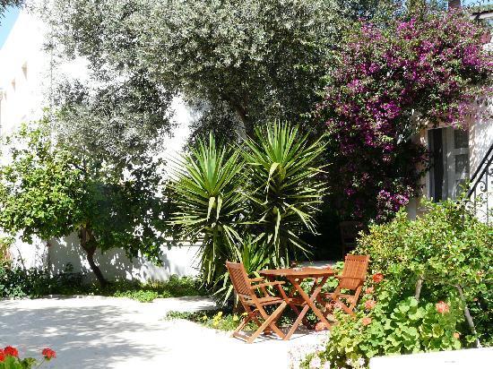 Hotel Comca Manzara: calme, verdure et fleurs