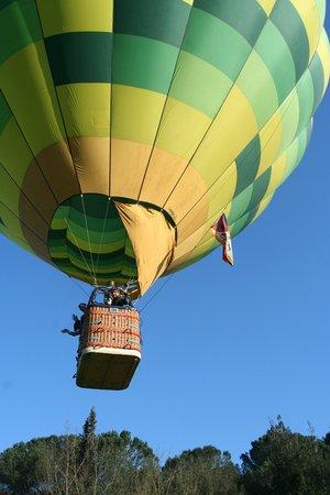 Tuscany Ballooning: il volo