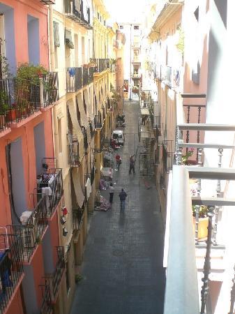 Antigua Morellana HS: vista dal balcone
