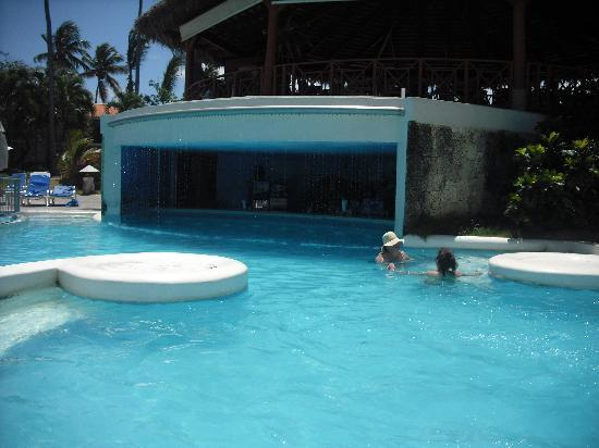 Dominicaanse Republiek: swim up bar