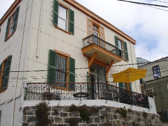 Casa Hostal 199: Romántica terraza a la europea.