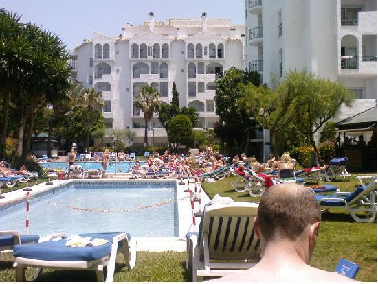 The view of the pool from our room picture of pyr - Hotel pyr puerto banus ...