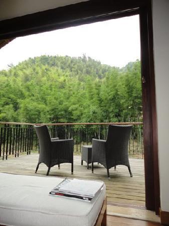 Crosswaters Ecolodge & SPA: Single River Villa Balcony