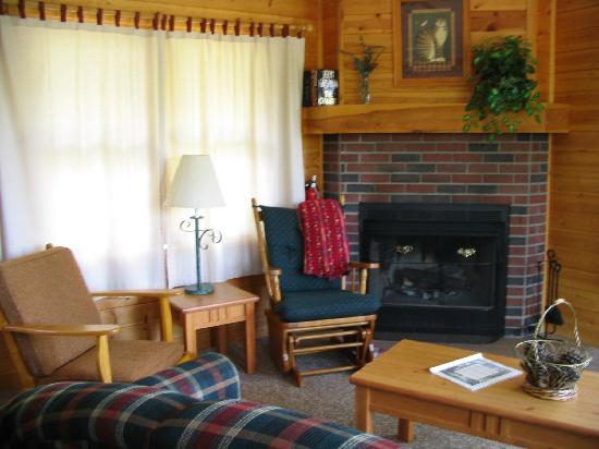 Lost Lake Lodge: Inside one of the cabins