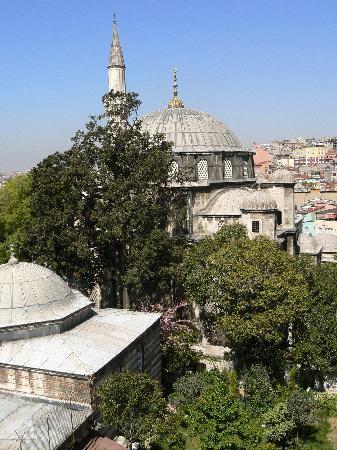 Dara Hotel Istanbul: terrasse 2