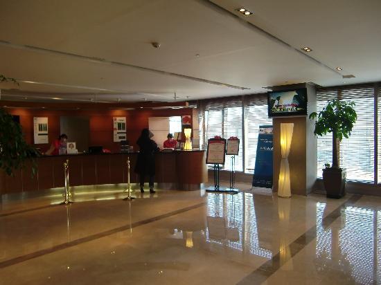 Ibis Ambassador Seoul Myeongdong: checkin at top floor