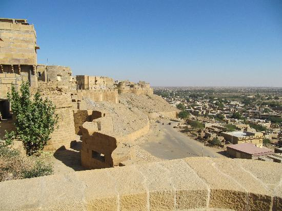 Hotel Golden City: view from the fort in Jaisalmer