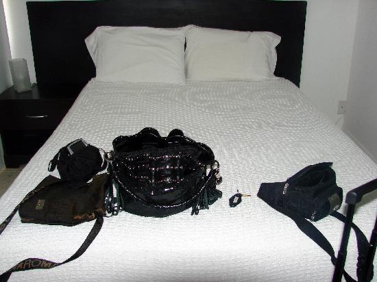 Costa Galana Miami: mi cama con linda vista a la ciudad