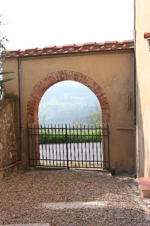 Agriturismo La Presura: View from outside our door