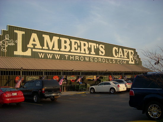 Exterior of Lambert's, Foley, AL