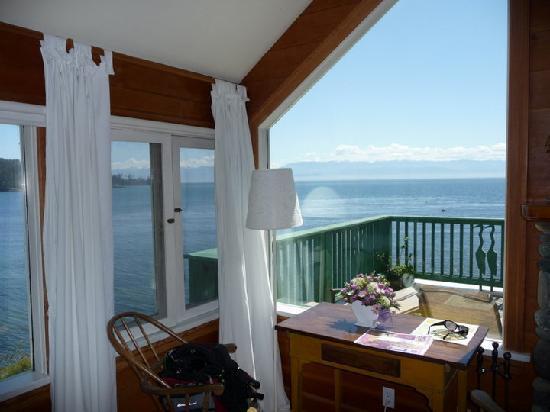 Sooke Harbour House Resort Hotel: Blue Heron Room