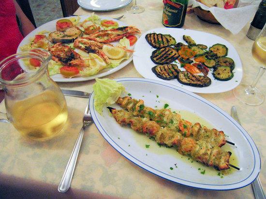 Ristorante Pizzeria Litrico's Specialita' Di Pesce : Seafood at Litrico's