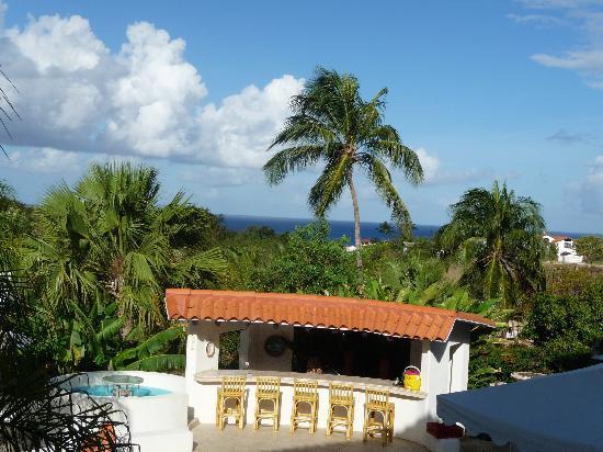 Sugar Cane Club Hotel & Spa : View from Restaurant