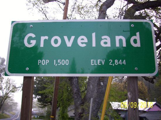 Groveland Hotel's Cellar Door: Groveland, CA