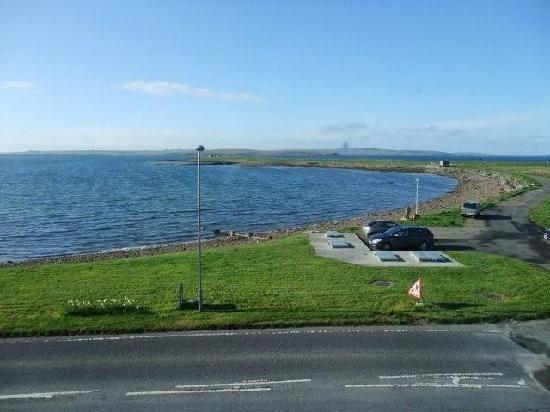 The INN Guest House: View from room, The Inn,St Mary's,Orkney