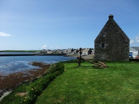 St. Mary's, UK: St Mary's village, Orkney
