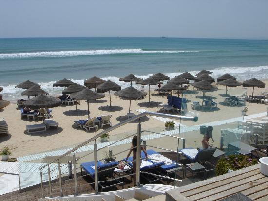 The Sindbad: Beach view