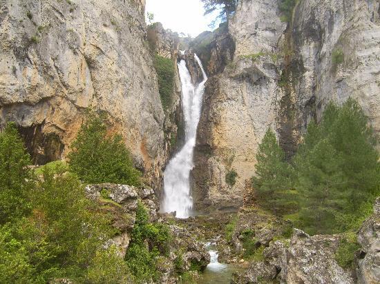 Hotel Coto del Valle: cascadas increibles