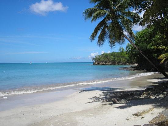St. James's Club Morgan Bay: Beautiful clean white sandy beach!