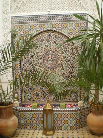Riad Attarine: la fontaine