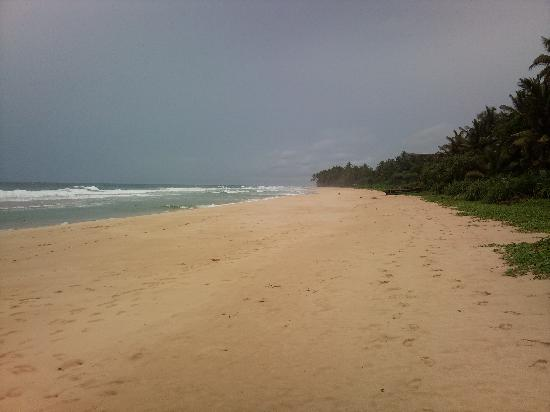 Koggala, Sri Lanka: powder white sand
