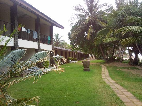 Koggala, Sri Lanka: nice garden's