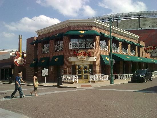 Holiday Inn Select Memphis - Downtown (Beale Street): Hard Rock Cafe