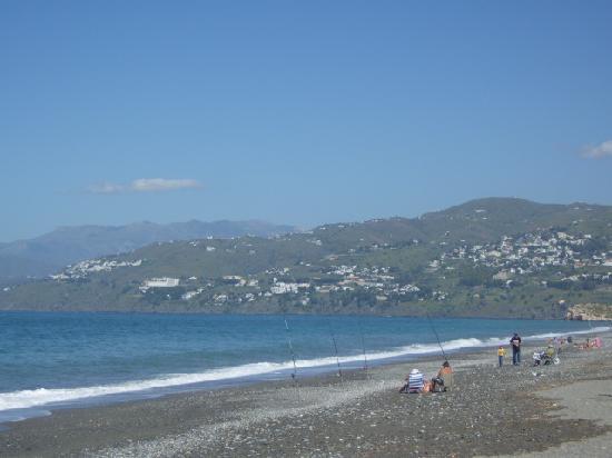 Cortijo Nuevo: Local beach, Motril