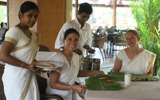 The Zuri Kumarakom: Traditional Kerala food day, I shall never forget!
