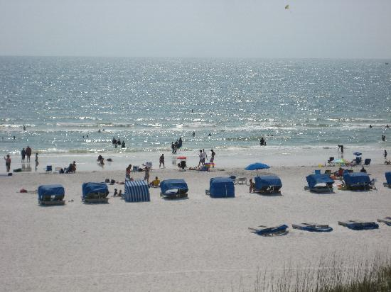 Gulf Strand Resort: Beach view from Unit 401