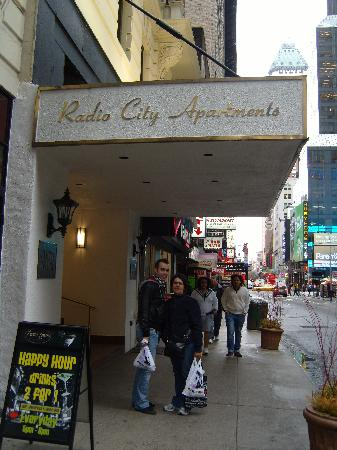 Outside Radio City Apartments. - Picture of Radio City ...