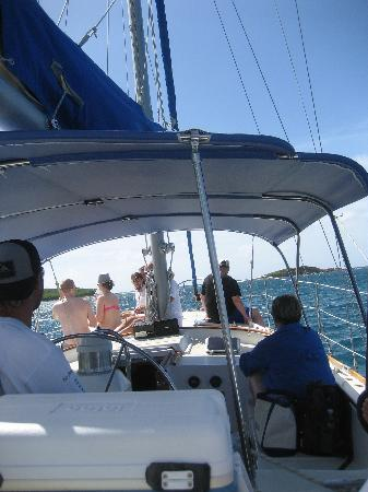 Fury Charters: a photo from inside the boat