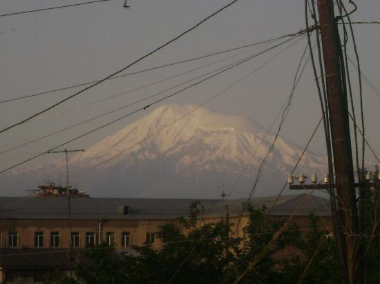 Europe Hotel: Ararat from my window