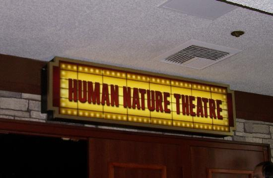 "Human Nature: Jukebox: Marquis for the recently (and deservedly) renamed ""Human Nature Theater""."