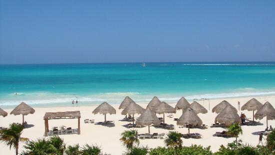 Secrets Maroma Beach Riviera Cancun Plage Depuis La Chambre