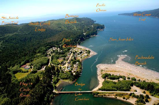 Soule Creek Lodge: Port Renfrew overview