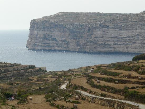 Bellavista Farmhouses Gozo: Cliffs - Sannat