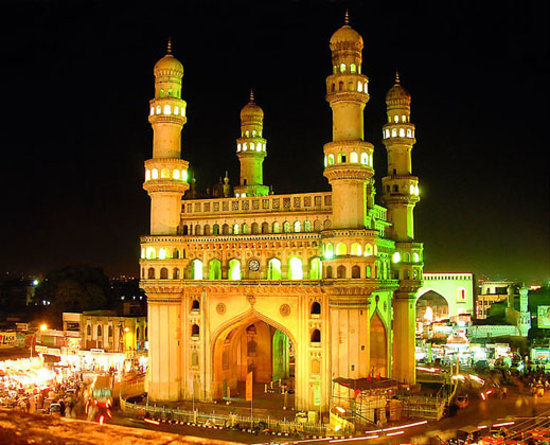 Hajdarabad, Indie: Charminar-The Brand of hyderabad
